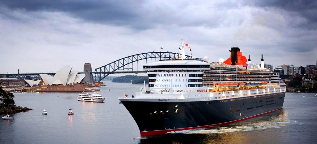 Queen Mary II visits Sydney - 26 February 2009
