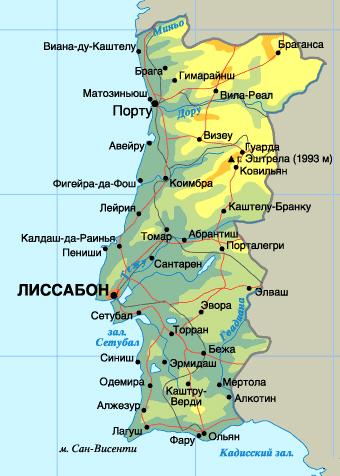 map_potugal