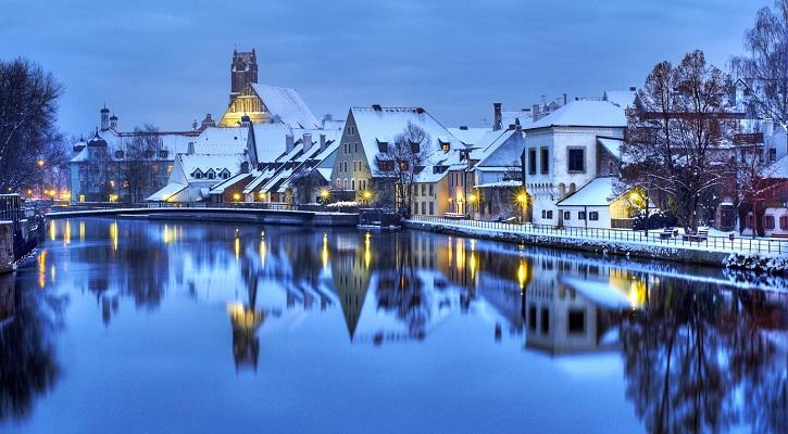 зима-в-германии