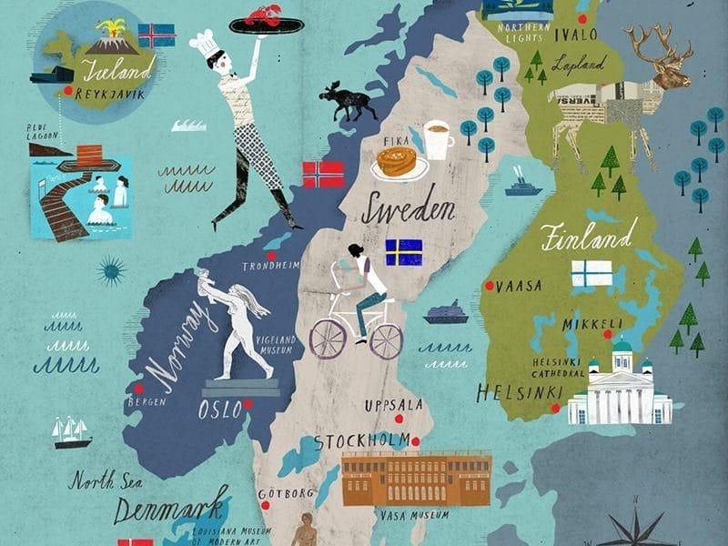 Скандинавия. Автобусные туры